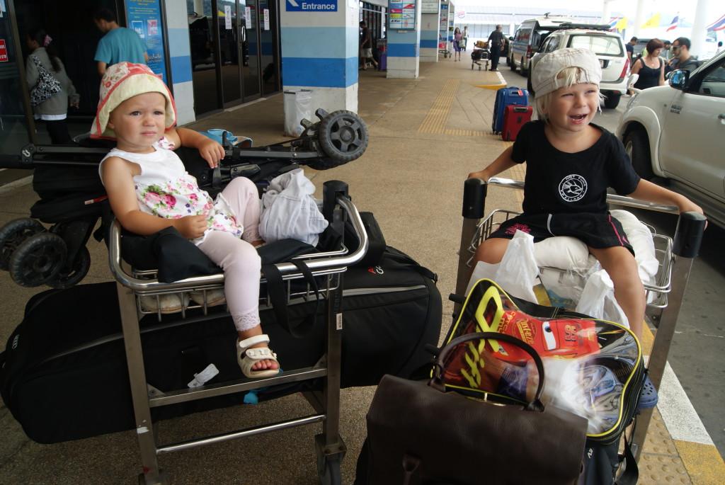 resa med barn
