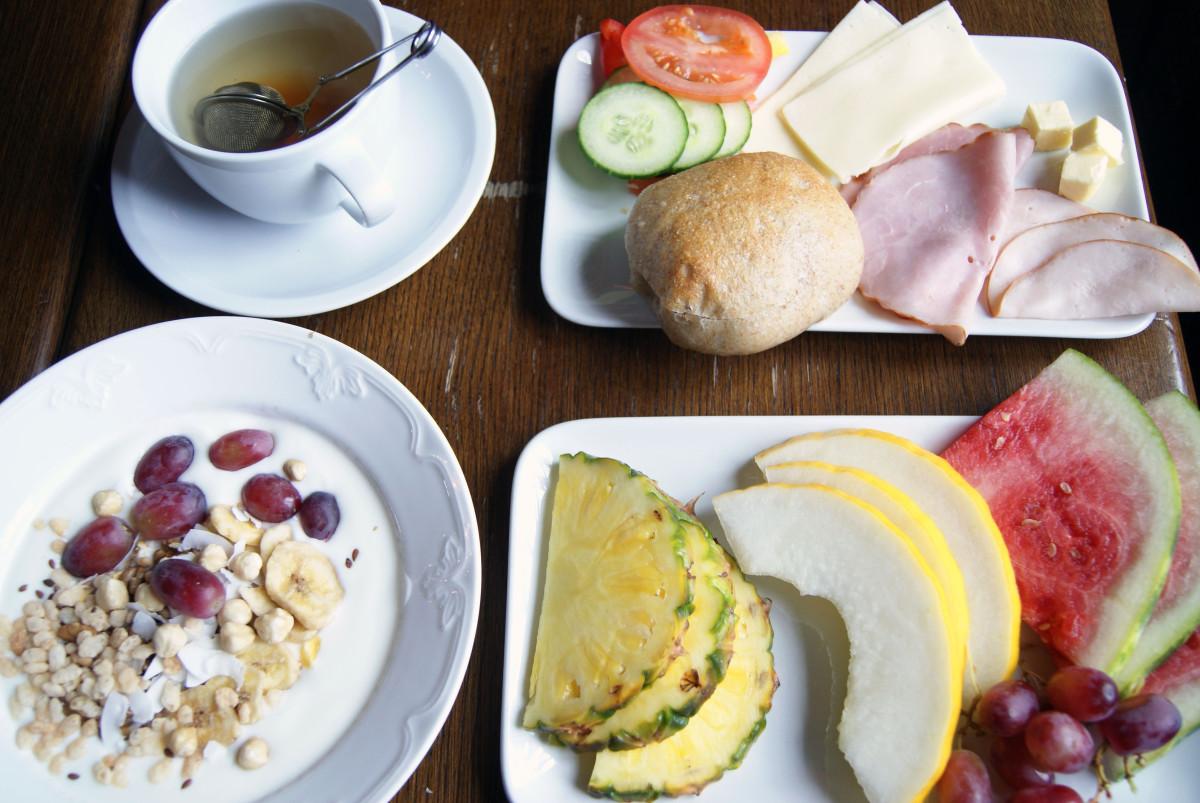 Häringe slott frukostbuffé