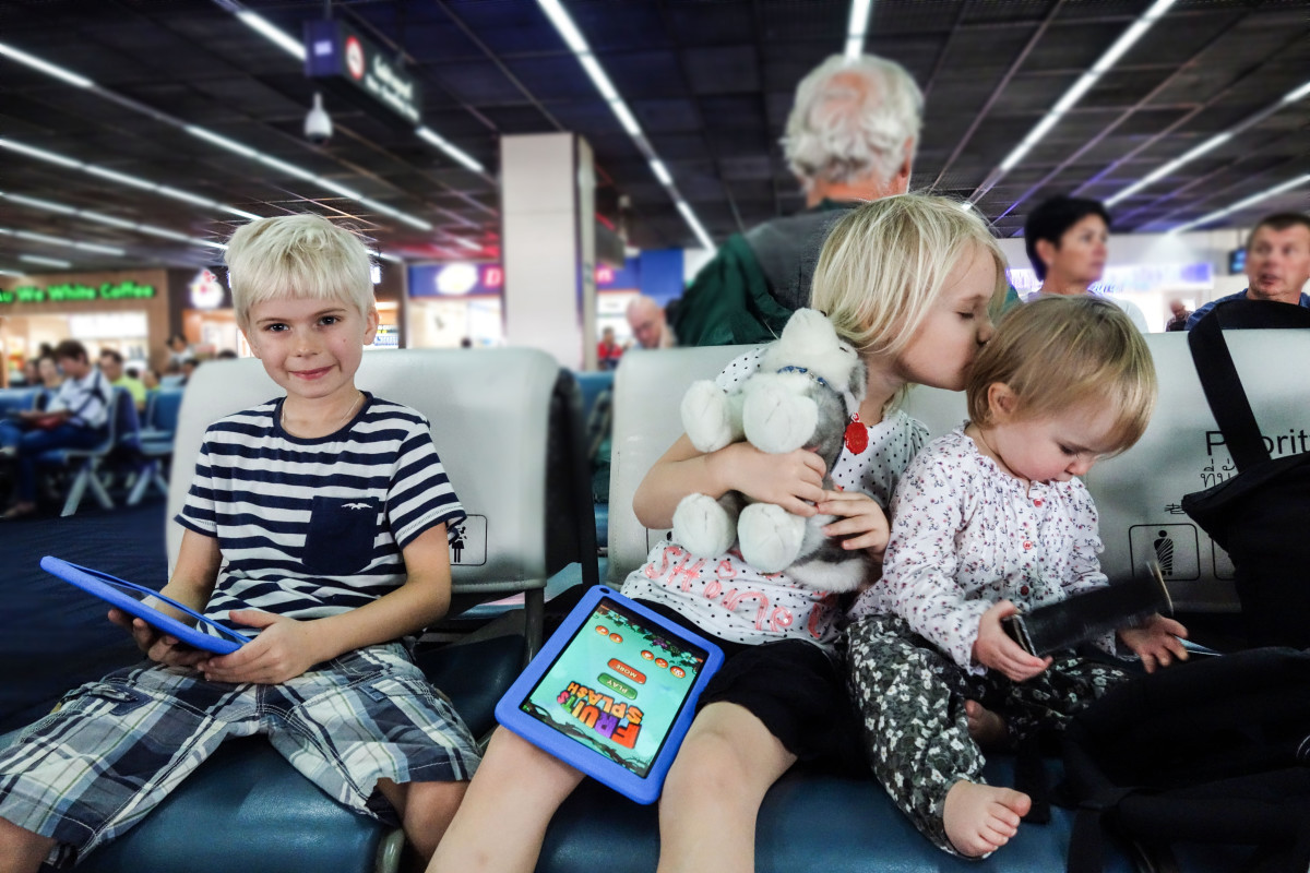 långresa med barn