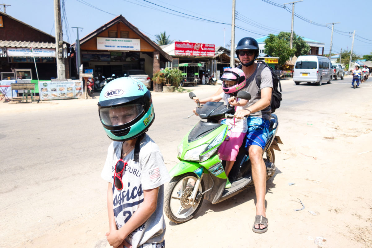Hyra moppe thailand