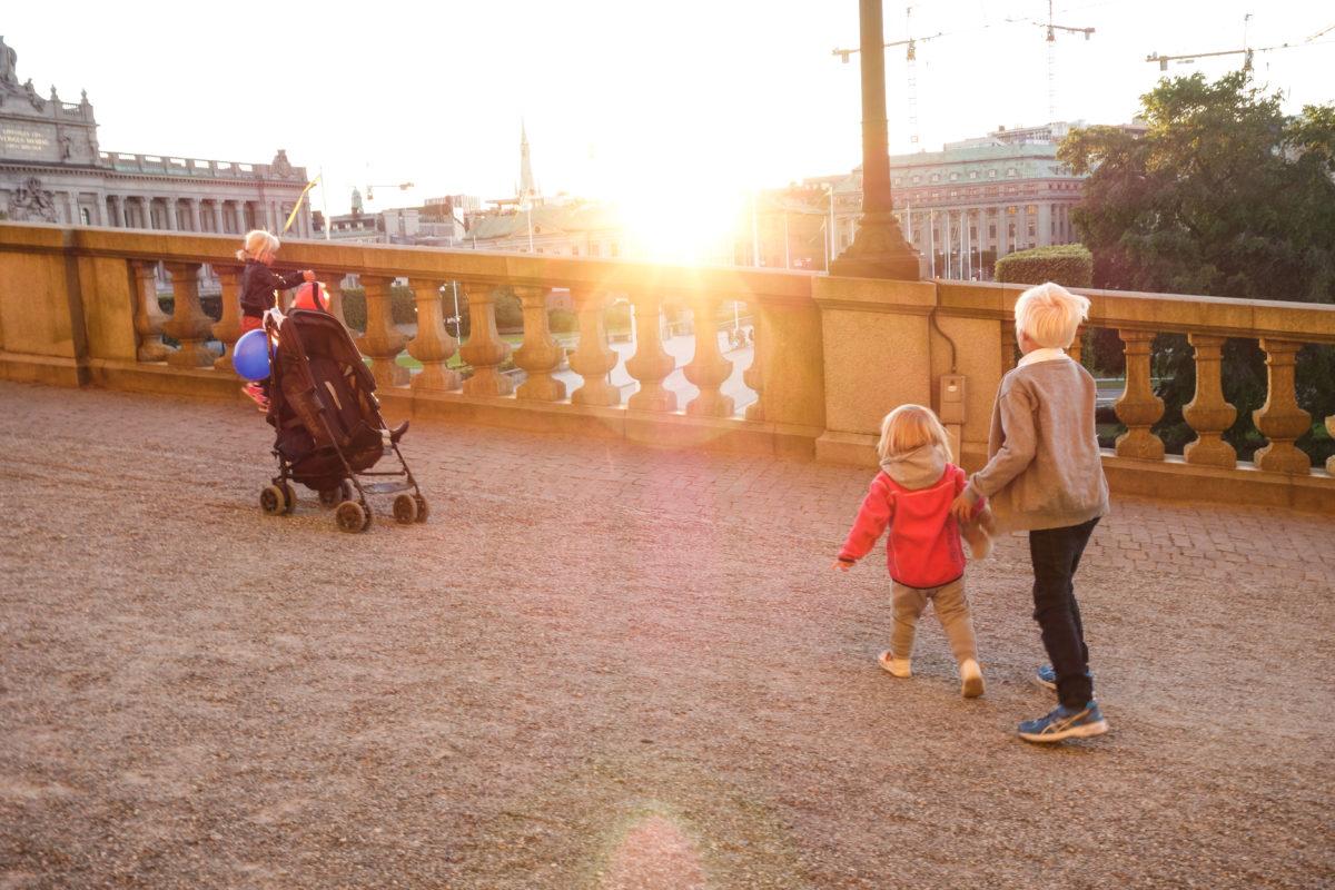 Att göra gratis i Stockholm med barn