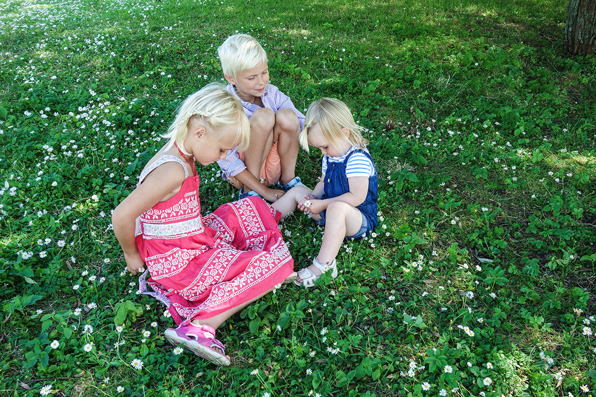 Djurgården med barn