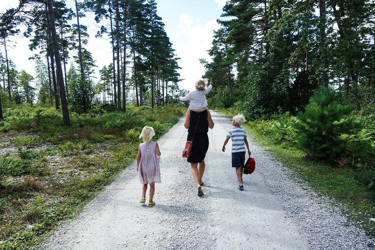 familjesemester i Sverige Gotland