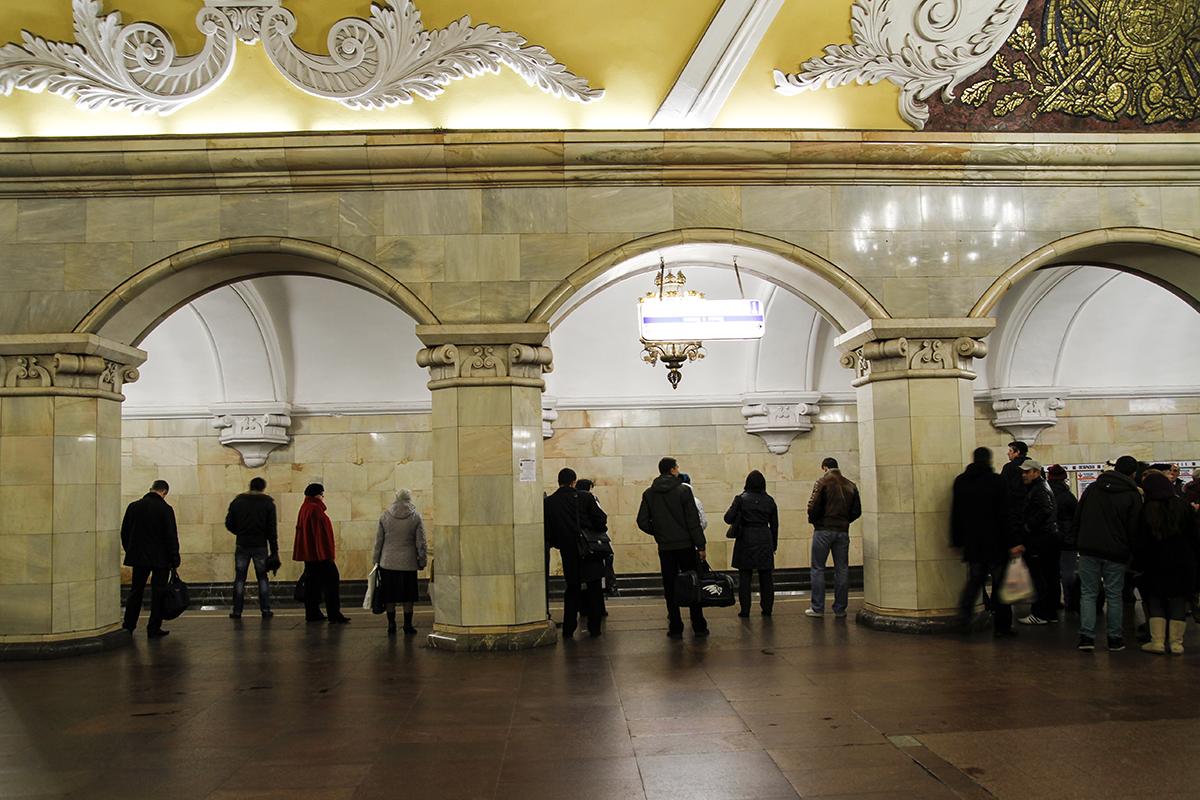 tunnelbanan moskva