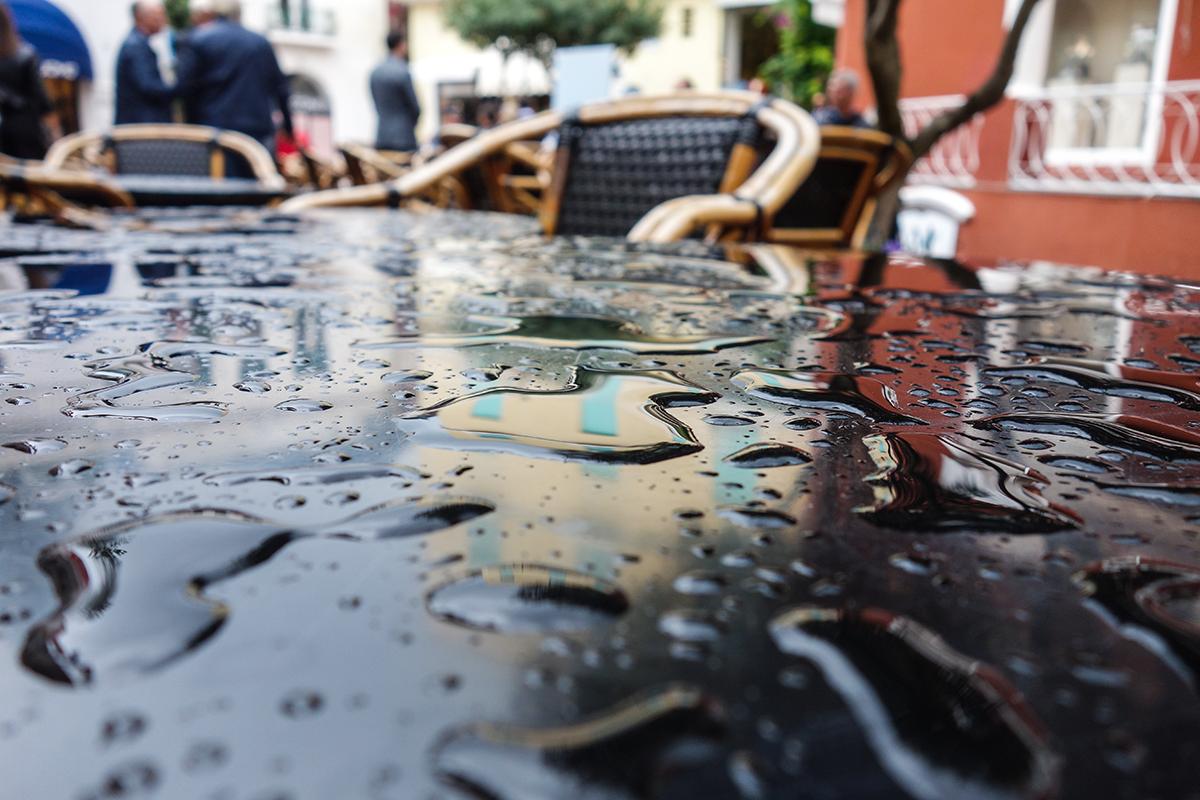 oktober regn