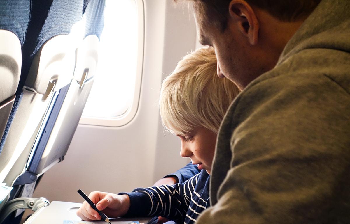 KLM kids flight