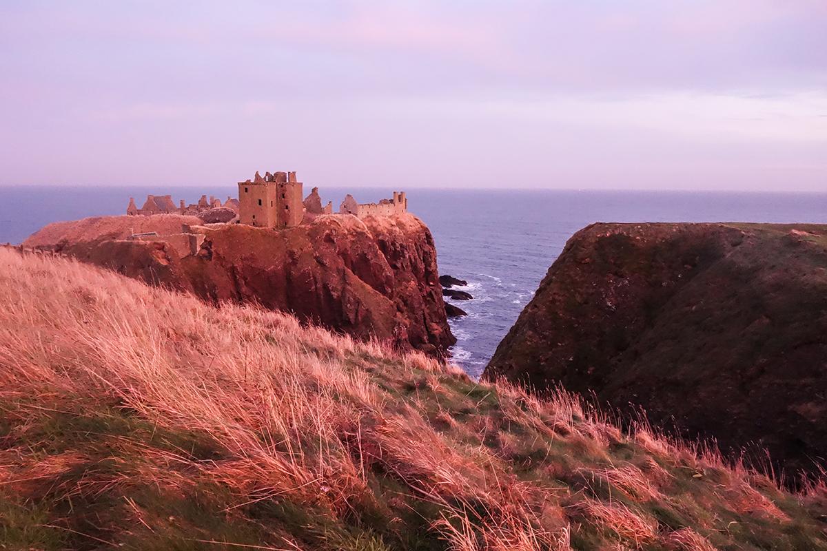vackra slott i skottland