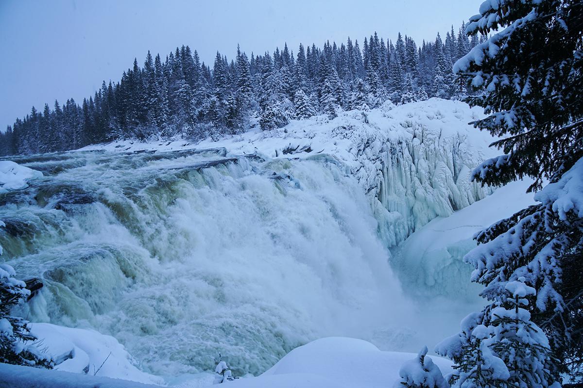 Sveriges största vattenfall