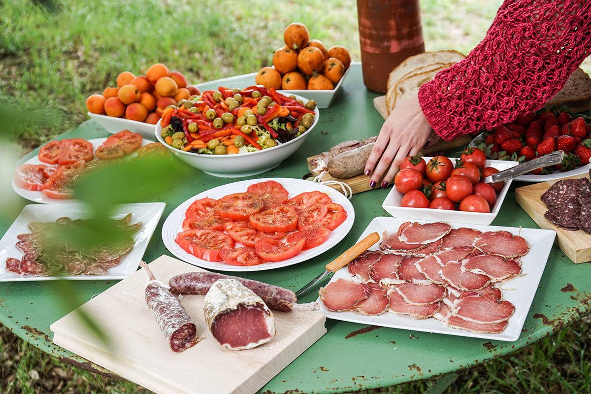 resa med barn Spanien mat