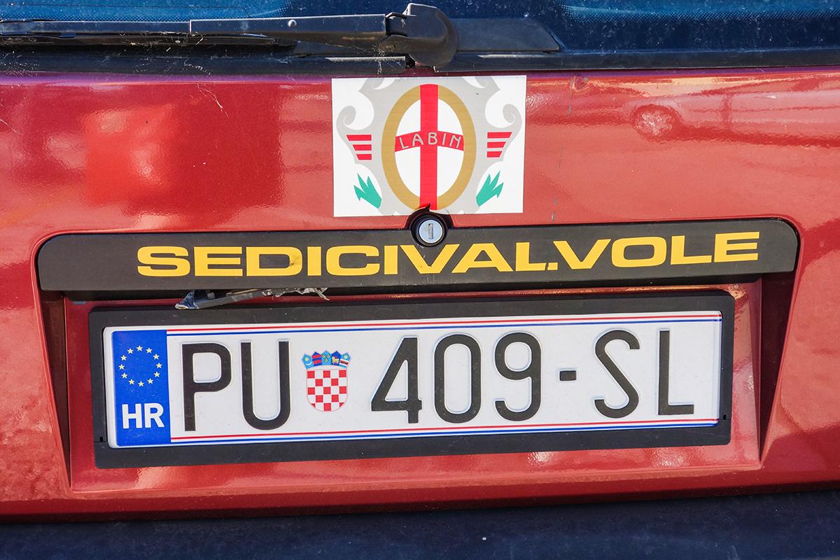 bil i kroatien