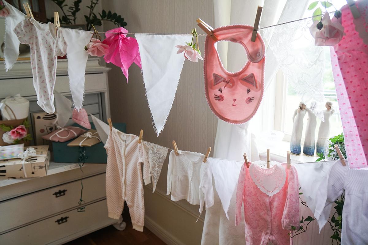 att göra en baby shower