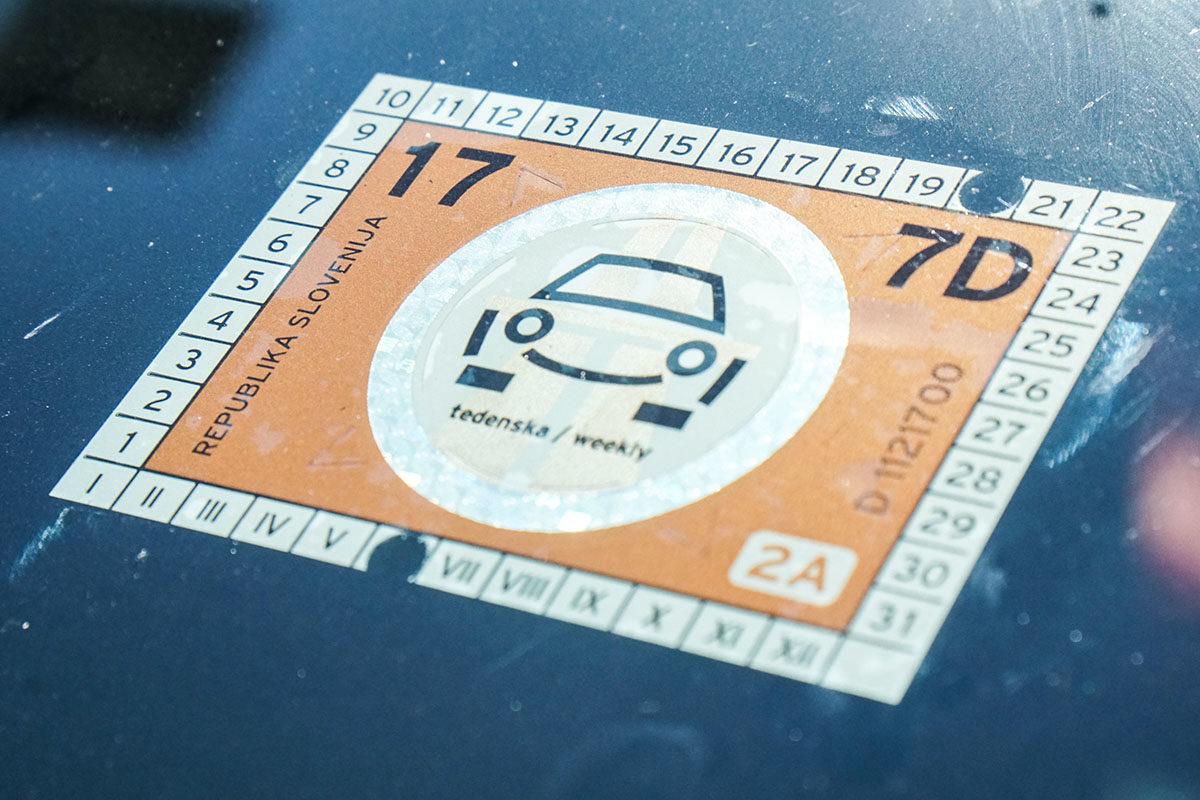 att bila i Slovenien