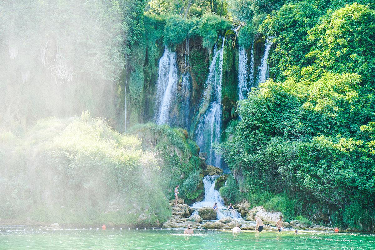 Kravice vattenfall
