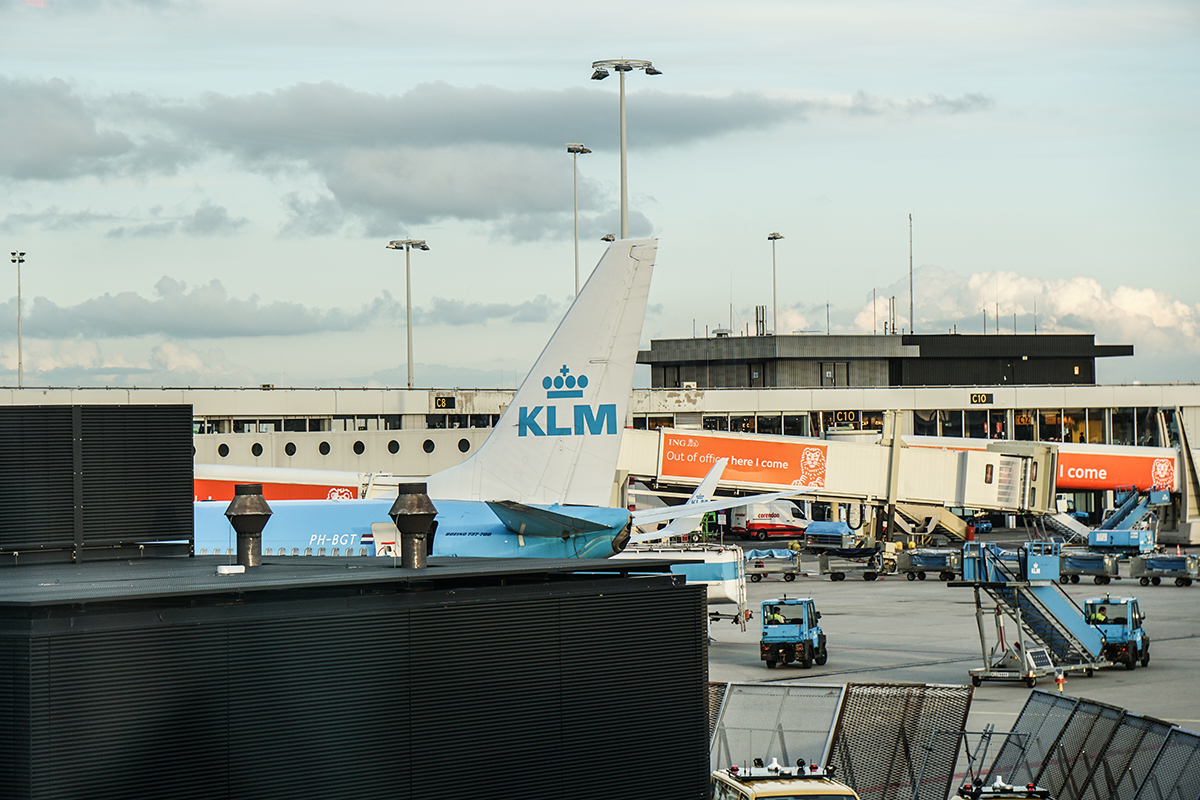 schiphol airport KLM