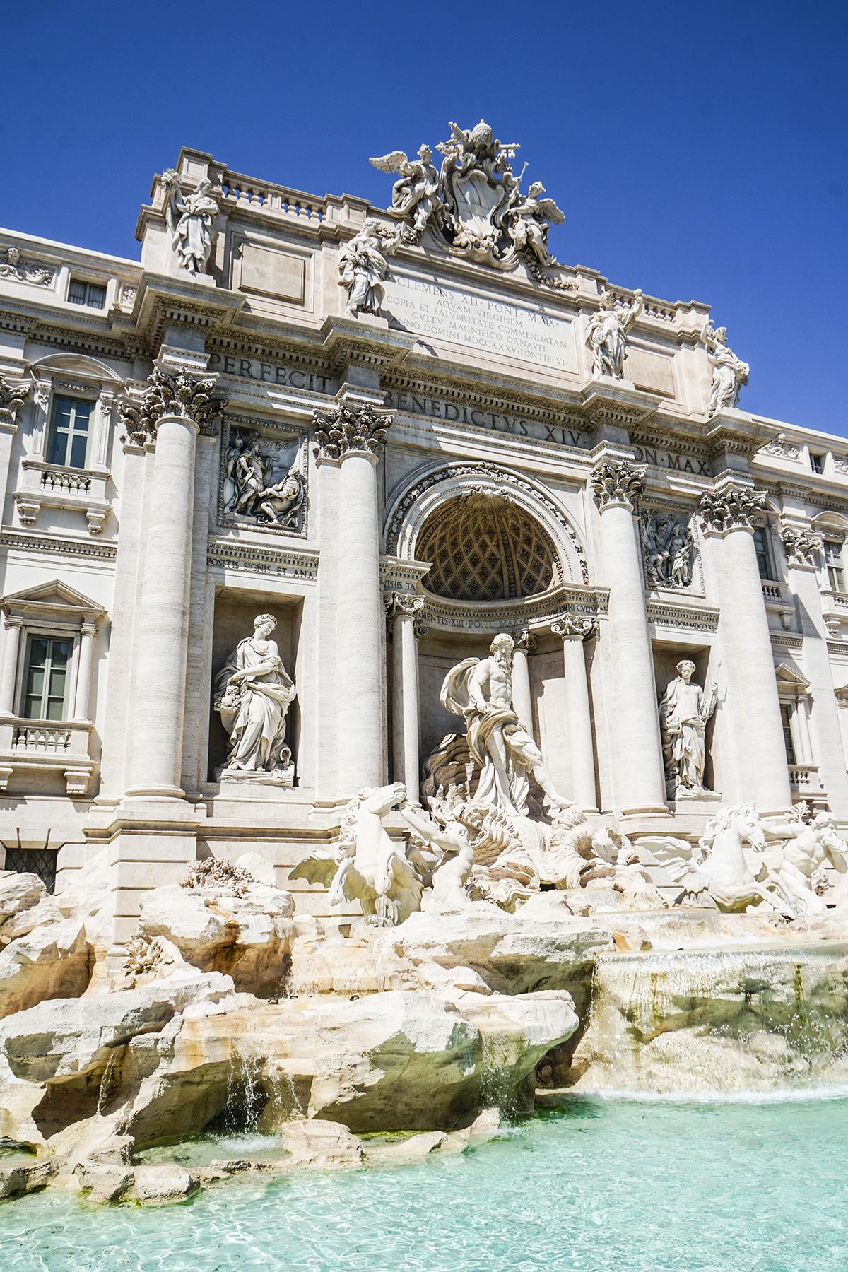 fontana di trevi rom