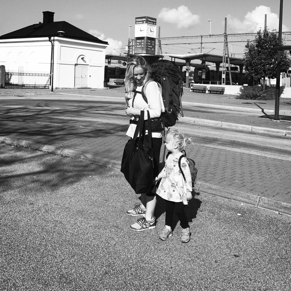 åka tåg med barn SJ