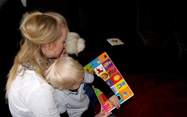läsa böcker för barn