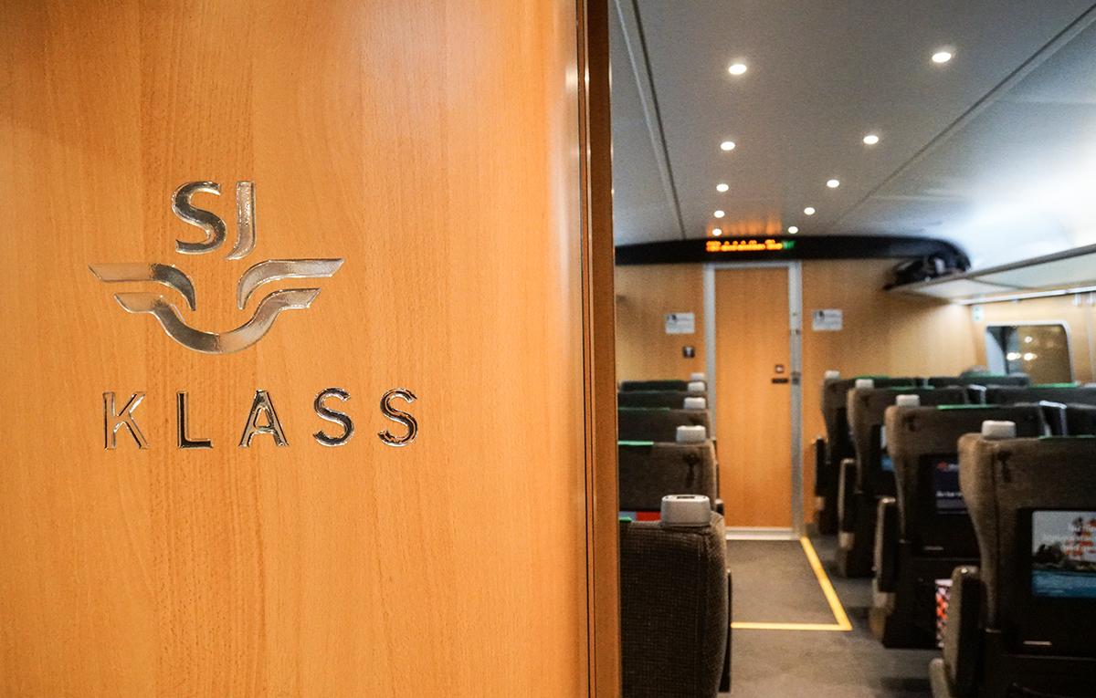 tåg första klass