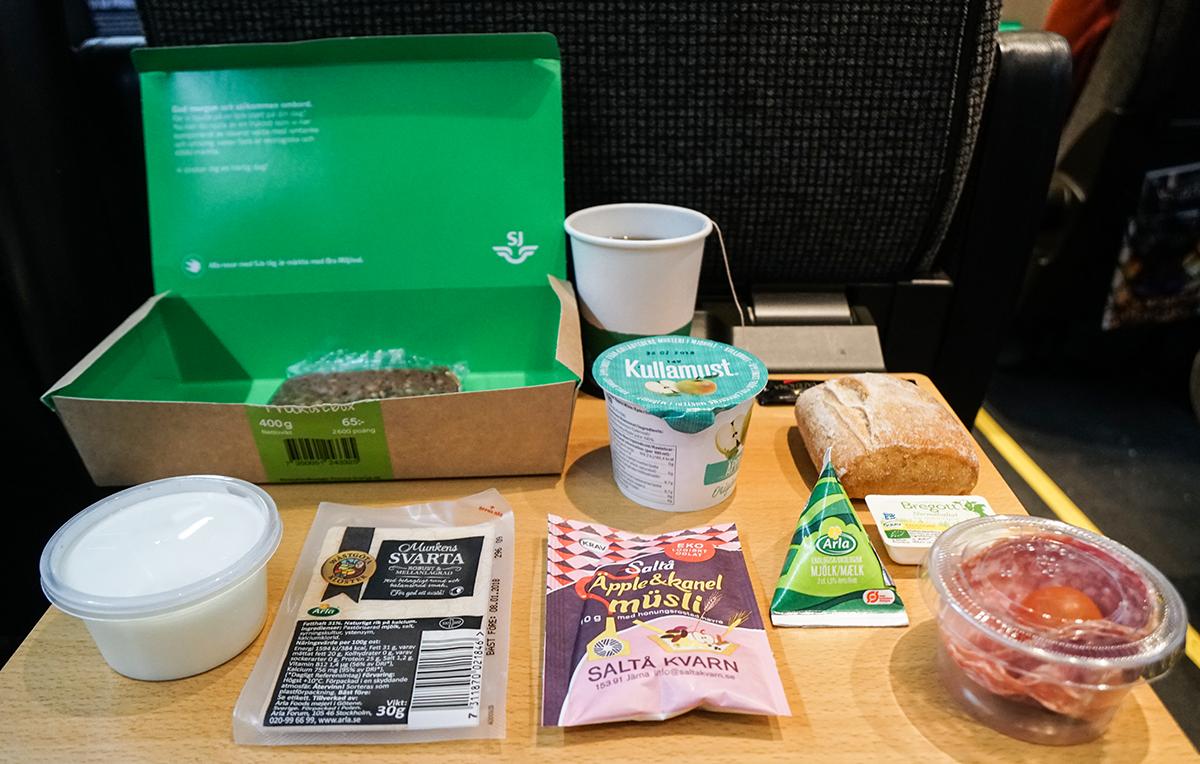 SJ tågfrukost