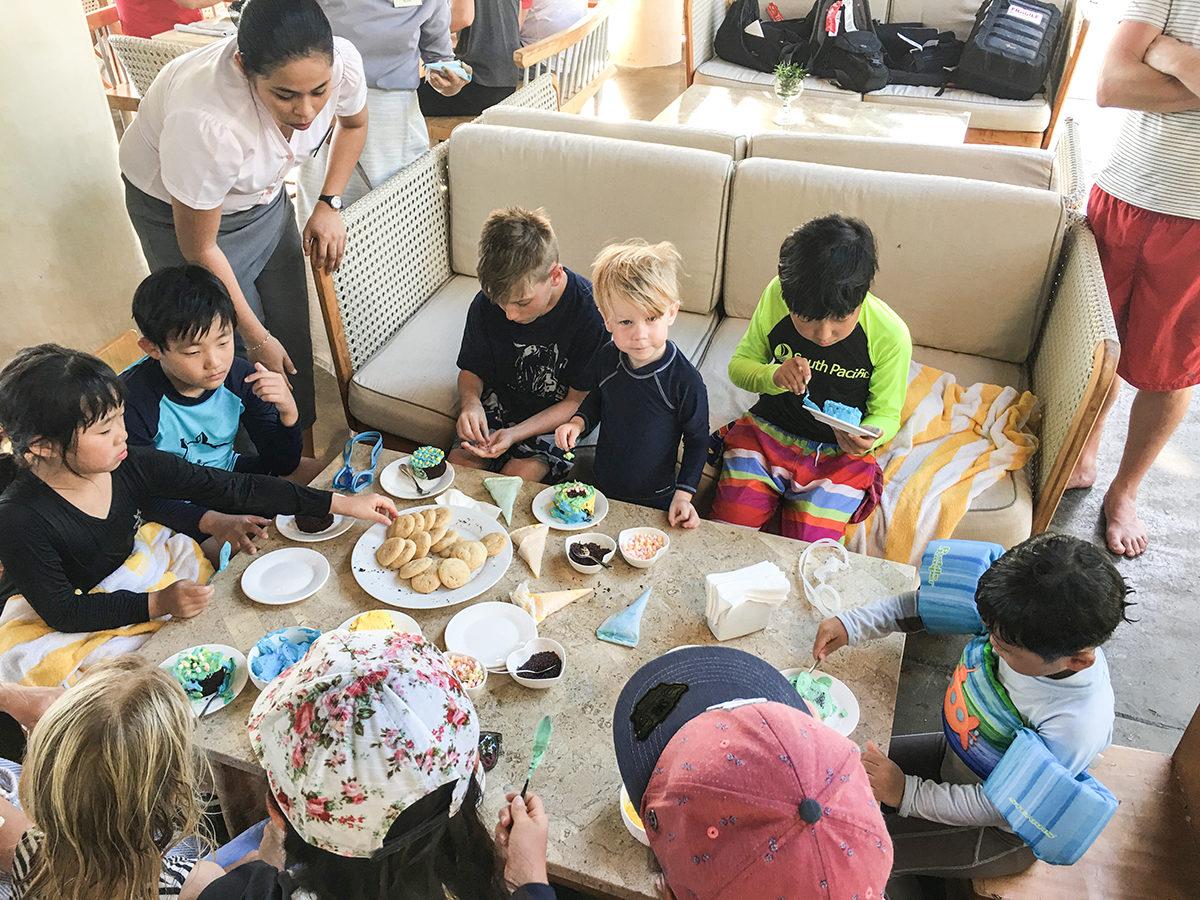 att resa till Filippinerna med barn