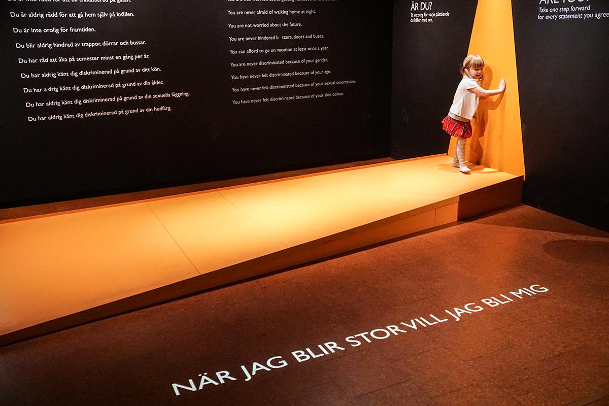 etnografiska museet med barn