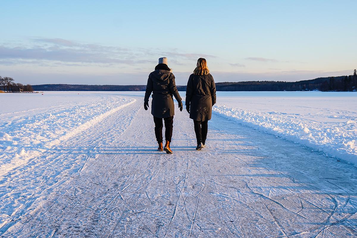 Annika och Lisa Att resa-podden