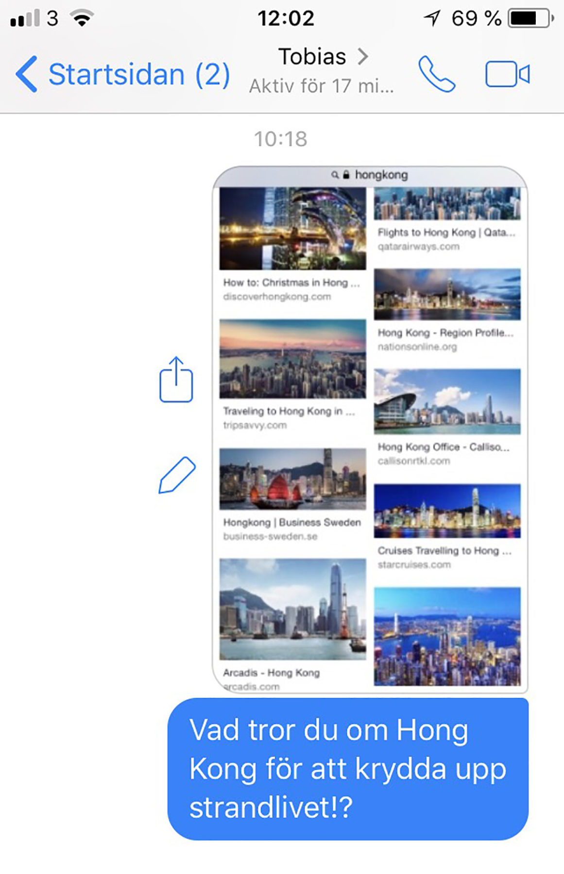 mobilbilder reseplanering