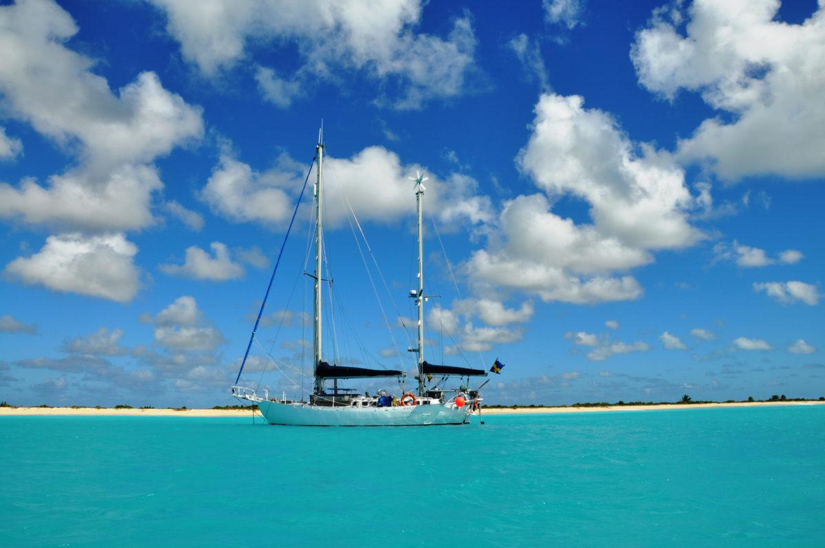 segelbåt och podd