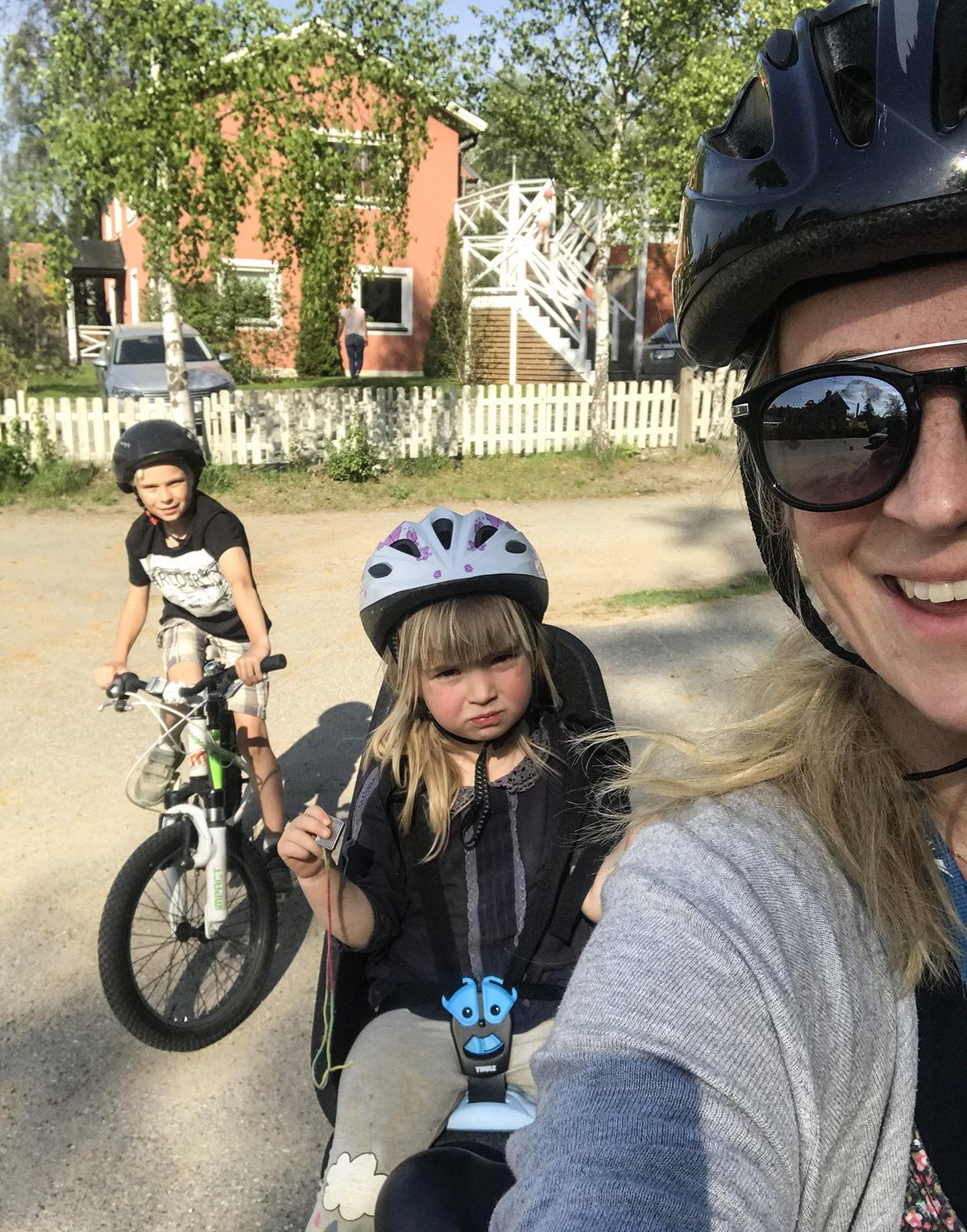 Thule cykelsadel barn