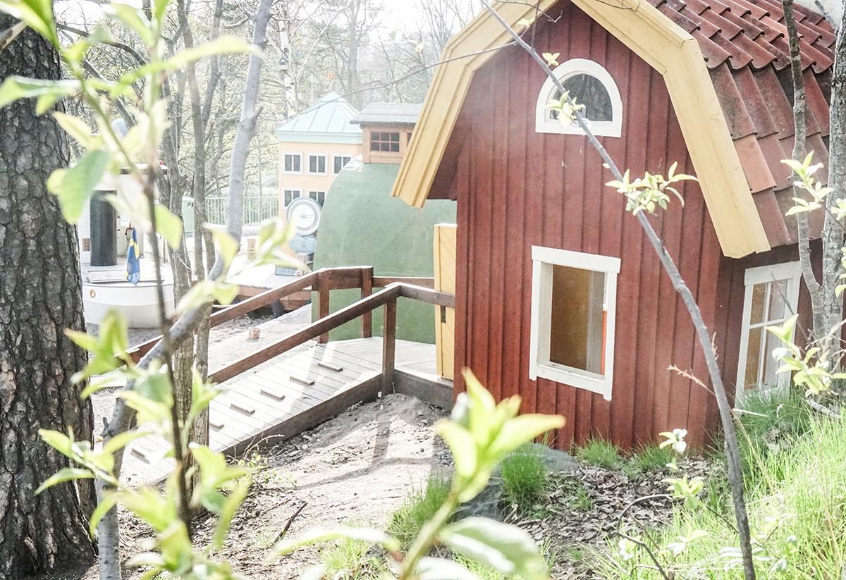 Lilla Kvarnholmen Lekparker i Stockholm