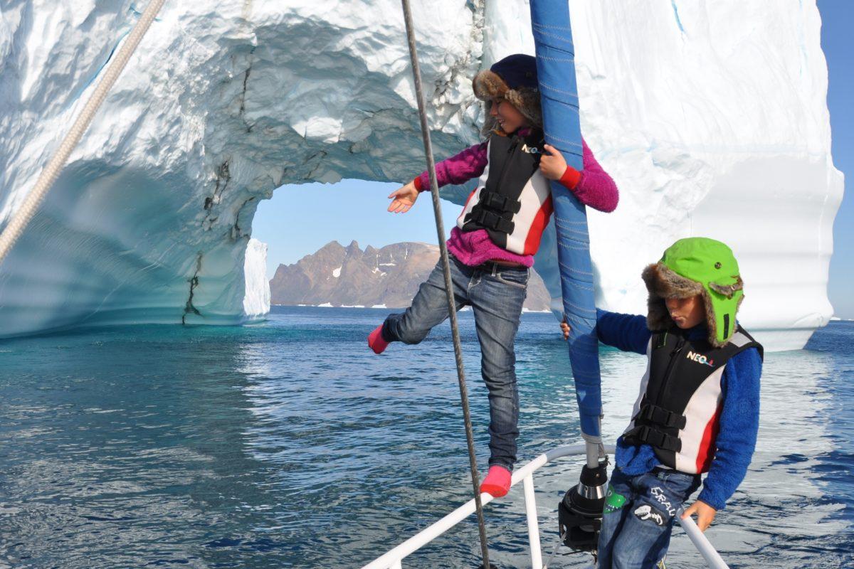segla med barn