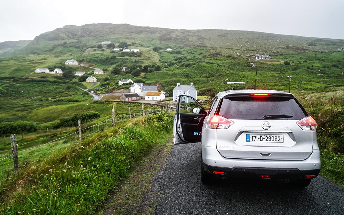 att resa till Irland