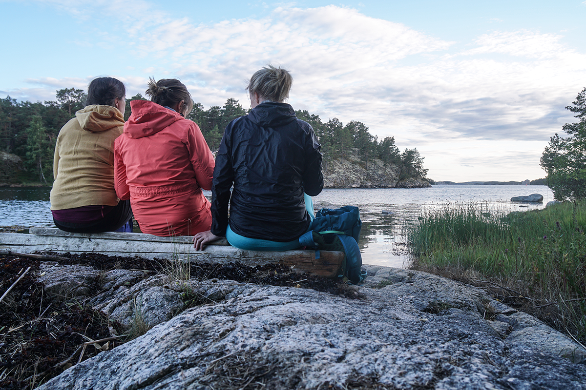 paddla kajak i Stockholms skärgård