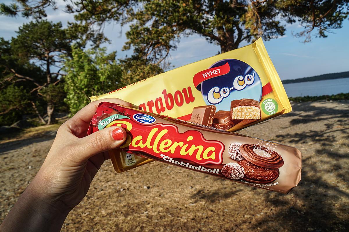 Ballerina chokladboll Marabou coco