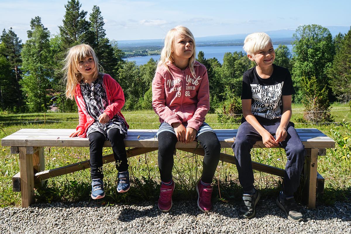 barnfamilj Östersund sommarturné