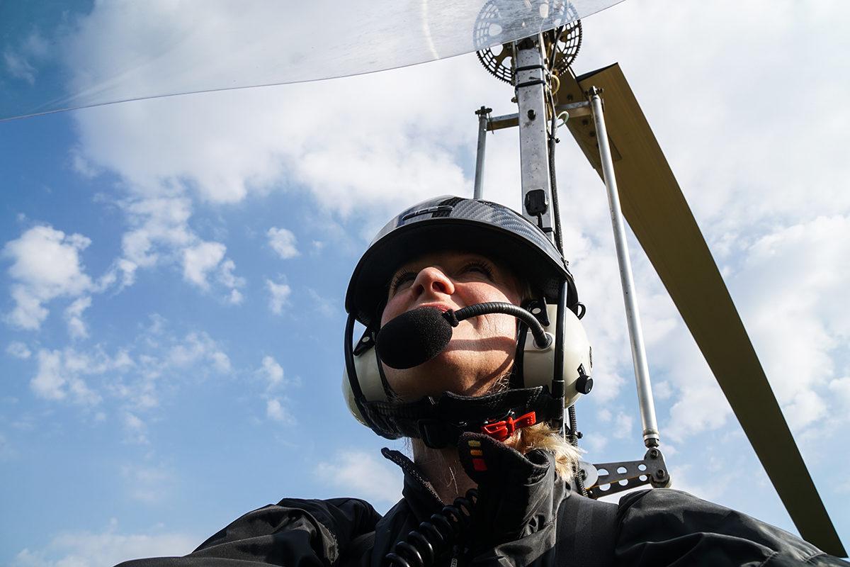 flyga gyrokopter