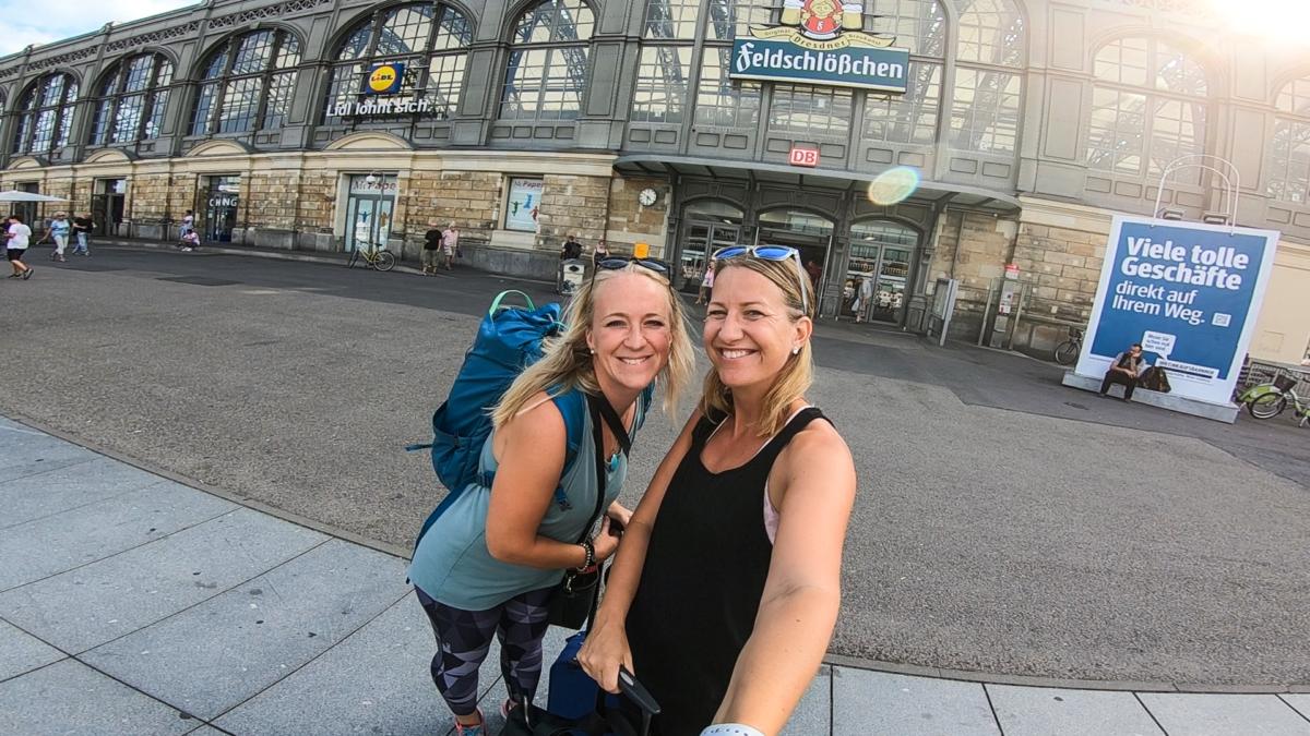 åka tåg i Tyskland