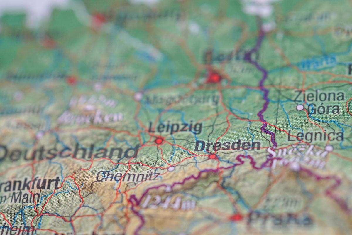 resa till Dresden