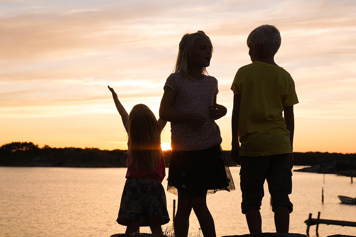resa i Sverige med barn