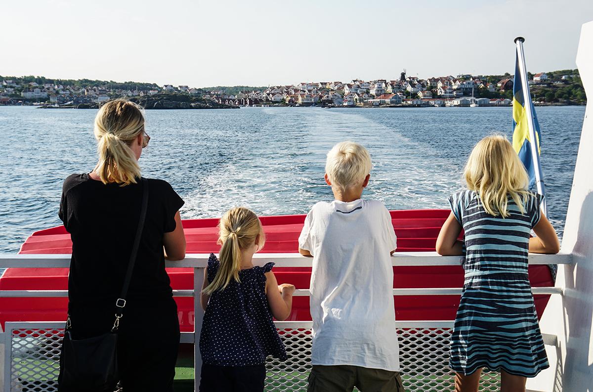 skaftö gullmarsstrand båt till Lysekil
