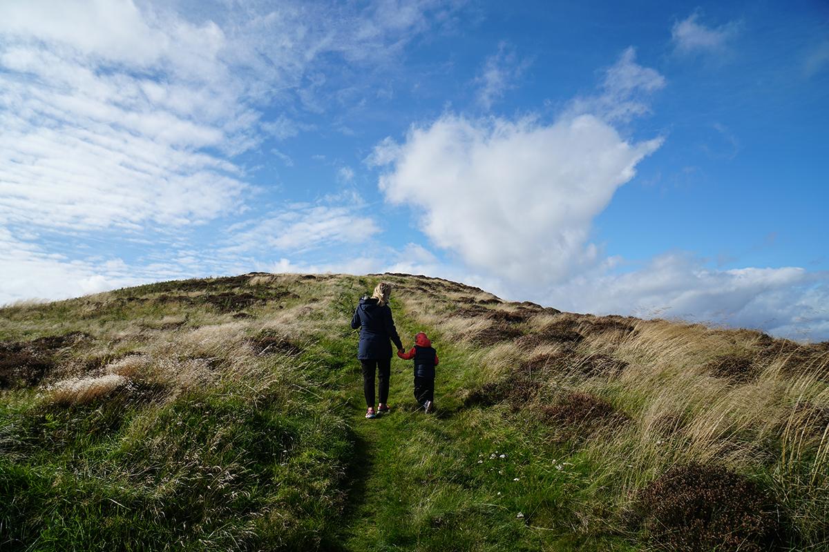 skotsk landsbygd