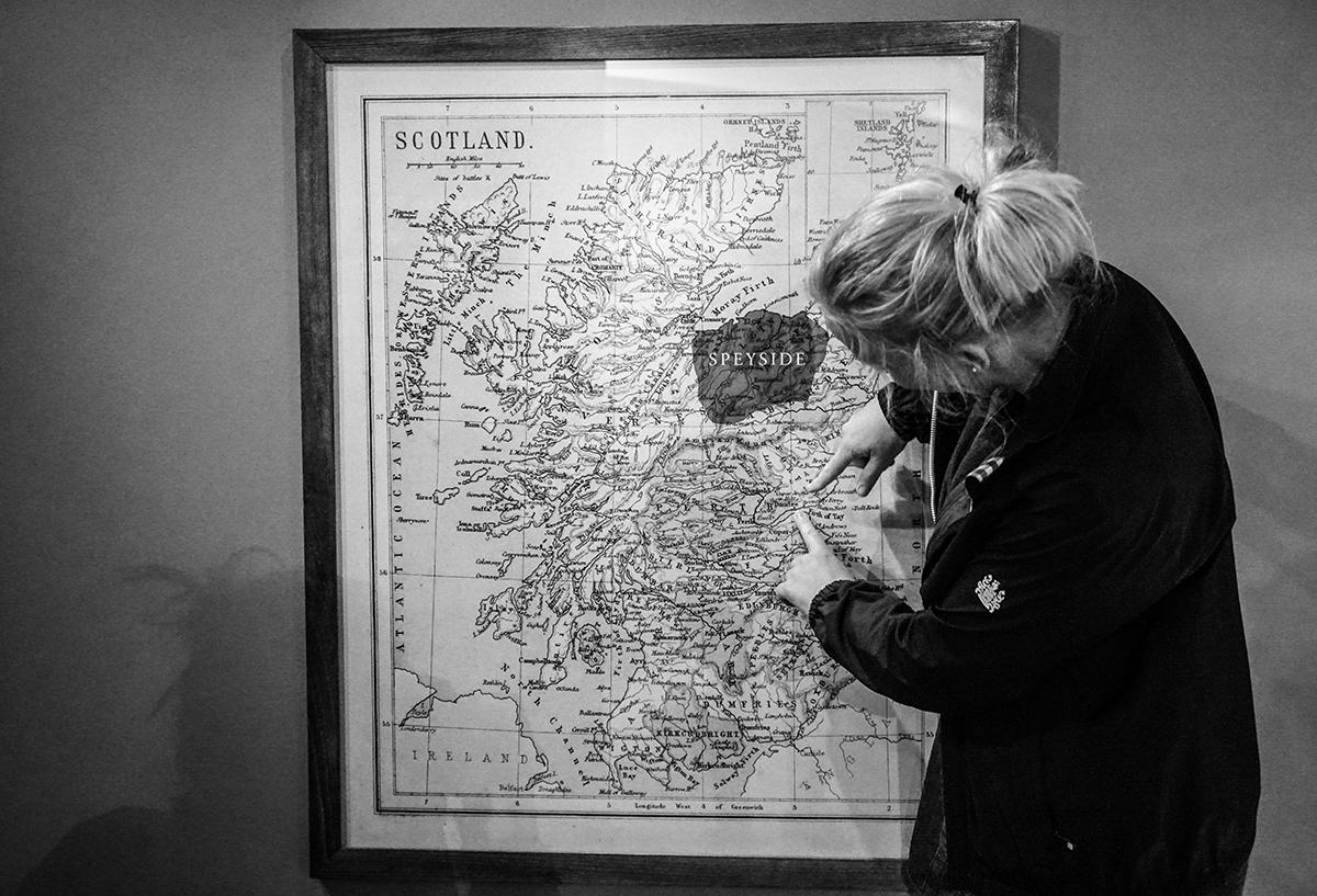 resa till Skottland