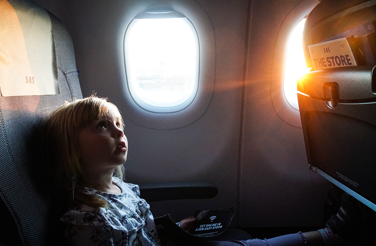 att resa med sitt barn