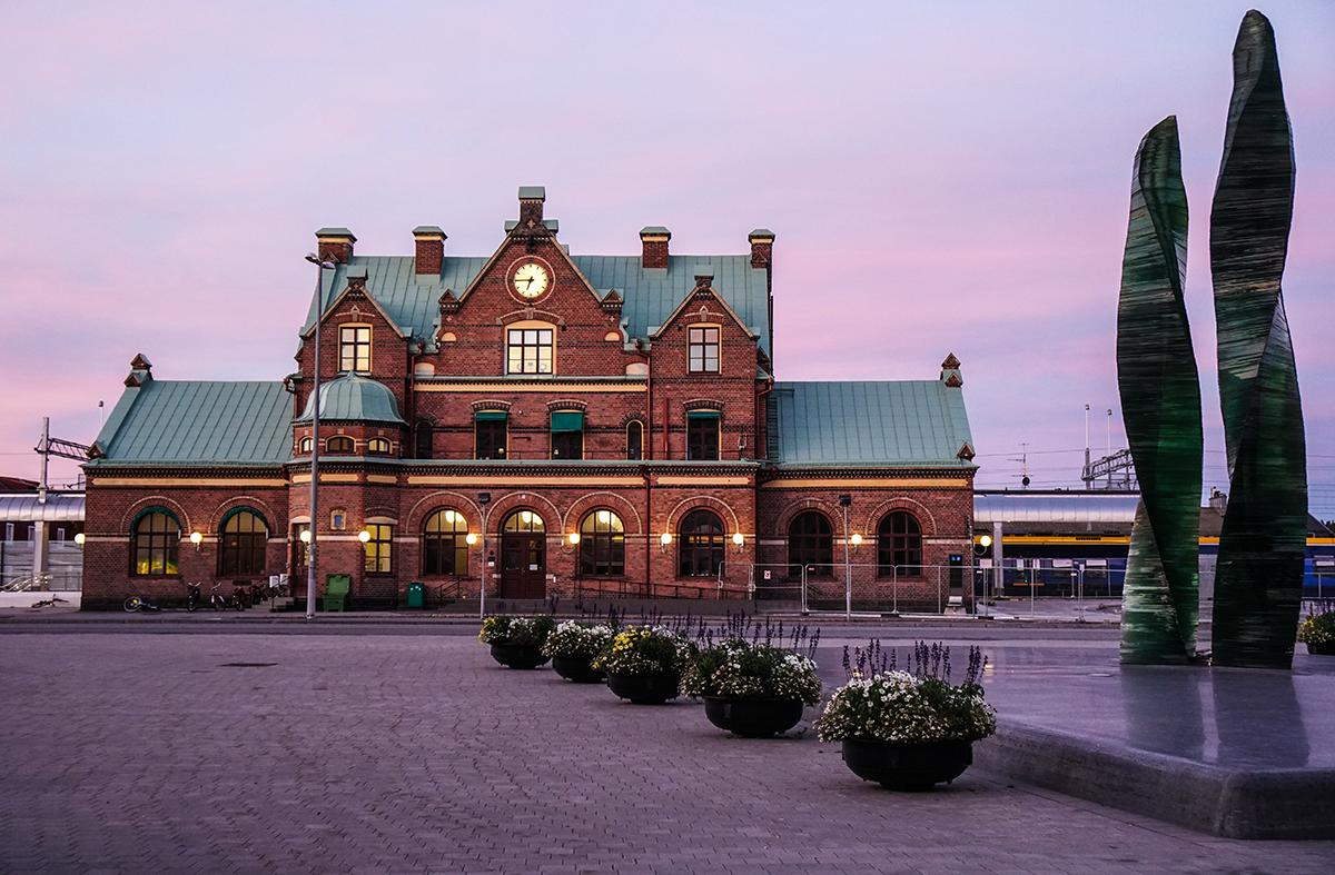 att resa till Umeå