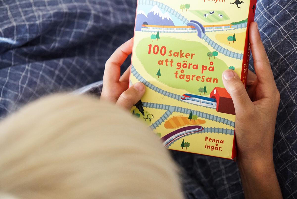 att göra på tågresan barn
