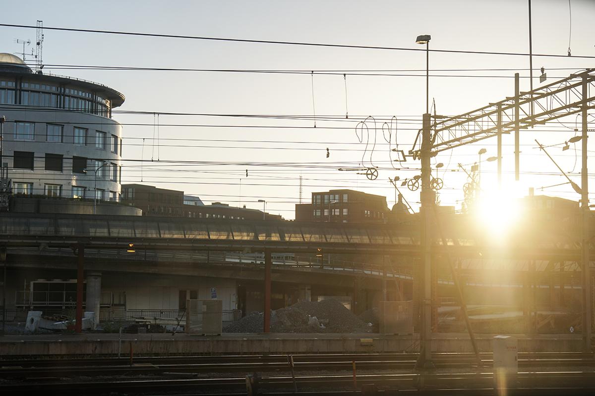 resa med tåg SJ