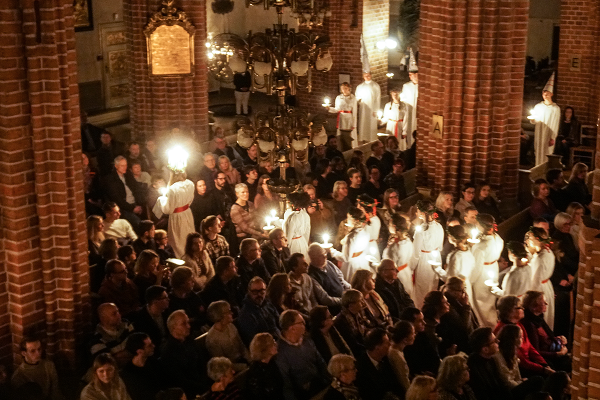 lucia i storkyrkan