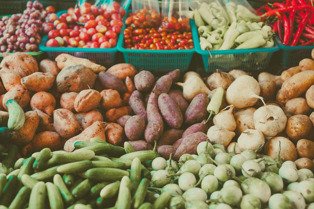 Marknadsdag Koh Lanta