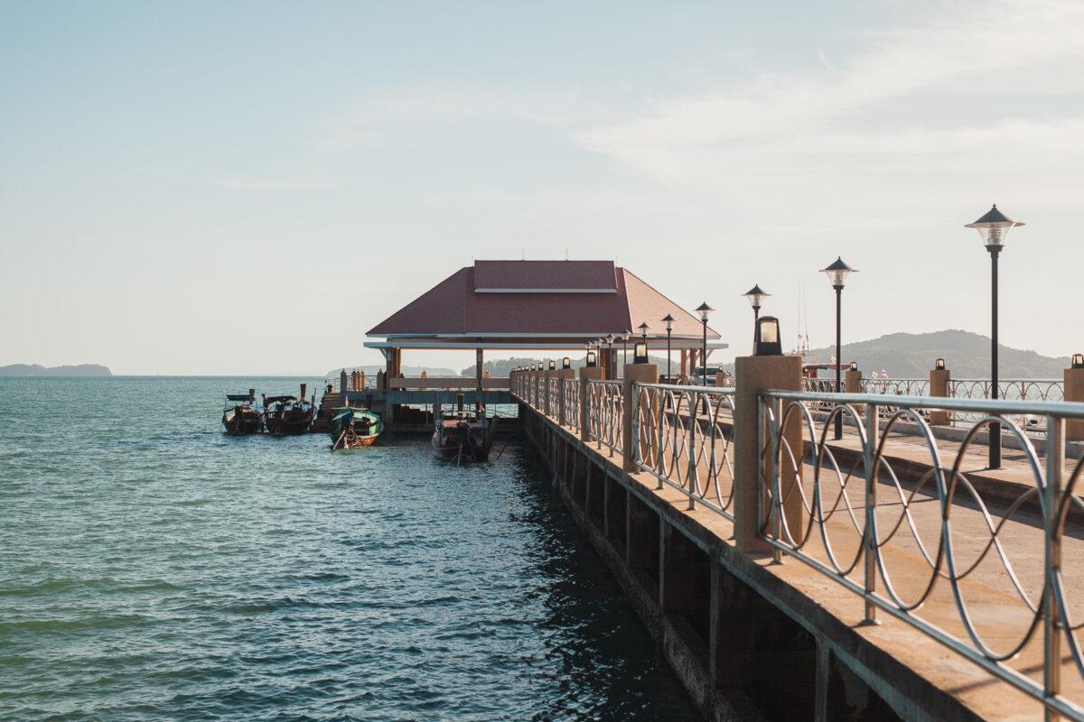 old town pier Koh Lanta
