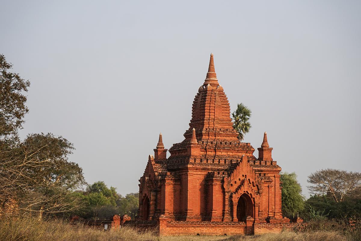 resa till bagan I myanmar